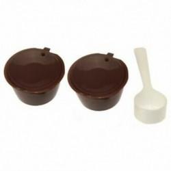 i cafilas Újratölthető kávékapszula a Nescafe Dolce Gusto újrafelhasználható Capsu P8Z9-hez