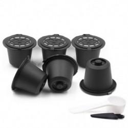 i cafilas 6 Újrafelhasználható Nespresso kapszula Újratölthető kávékapszula-szűrő Co D7L3