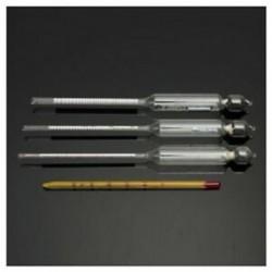 3 db-os hidrométer alkoholmérő 0-tól 100% -ig terjedő alkoholmérő-teszttel   T6O7 hőmérővel