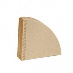 2X (V60 szűrőpohár speciális 102 kávészűrőpapír Kávészűrőpapírok Unbl B5P6