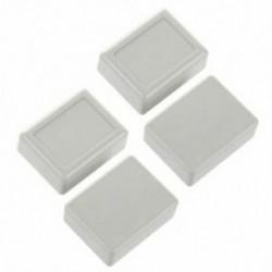 1X (4 db 46 x 36 x 18 mm-es vízálló műanyag ház DIY csatlakozódoboz szürke-wh9 Y9