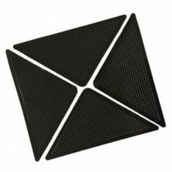 1X (4x szőnyeg szőnyegfogók, csúszásmentes, csúszásgátló, újrafelhasználható, mosható szilikon S1Q7