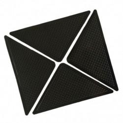 4x szőnyeg szőnyegfogók Csúszásmentes csúszásgátló, újrafelhasználható, mosható szilikon Gr H1I1