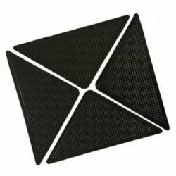 4x szőnyeg szőnyegfogók Csúszásmentes csúszásgátló, újrafelhasználható, mosható szilikon Gr W5S4