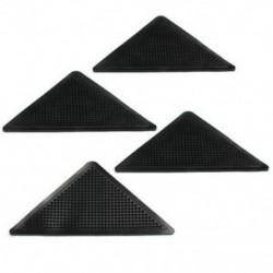 1X (4db szőnyegszőnyeg szőnyegfogók Csúszásmentes sarkokkal Csúszásgátló Mosható Sil V3M0