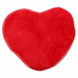 Divat modern dekoratív bozontos szív puha műszőrme szőnyeg báránybőr hálószoba S1V8