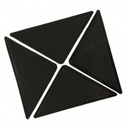2X (4x szőnyeg szőnyegfogók, csúszásmentes, csúszásgátló, újrafelhasználható, mosható szilikon K5A1