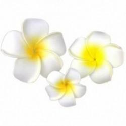 3 db Hawaii Plumeria virág fejdísz hajcsavar Barrette hajcsipesz Accesso N4K5