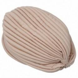 1X (női csomagoló sapka elasztikus turbán fejpántos jóga kalap sapka Khaki Z8N2)