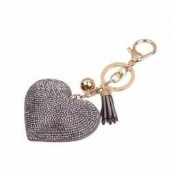 Kulcstartó, szerelem strasszos bojt kulcstartó kulcstartó J2N7 O3H7 V4X7