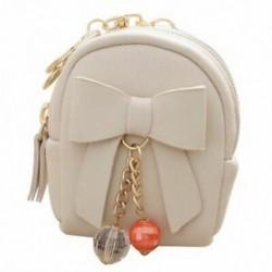 1X (új női mini hátizsák alakú érme táska pénztárca kézitáska pénztárca kulcstartó B4Q5