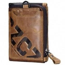 4X (Gzcz valódi bőr férfi pénztárca divat érme pénztárca kártyatartó kis Wal E1G4