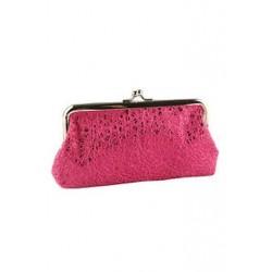 Női flitter kuplung esti party telefon táska pénztárca pénztárca (rózsaszín) X1O5 O5V6