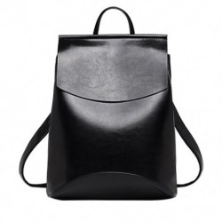 1X (divatos hátizsák bőr hátizsák lány School One váll fekete táska B3E5)