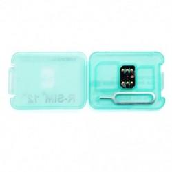 1x Telefonos SIM-kártya R-SIM12 kártya iPhone X / 8/7/6 / 6s / 5 / 4G iOS 12 X Xr Xs Xsmax R-sim kártya eszköz