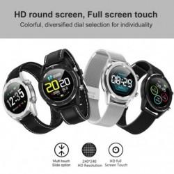 1x Bluetooth okosóra kompatibilis Android / iOS telefonhoz, vízálló érintőképernyős egészségügyi intelligens óra