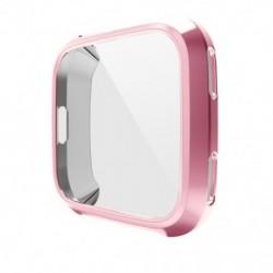 1x Csere képernyővédő fitbit Versa TPU tokok, lágy bevonatú tok védő teljes burkolatú fedél a Fitbit Versa