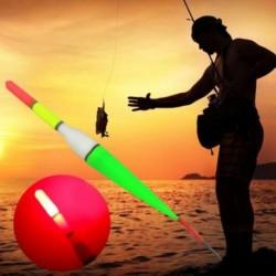 1x Drift világító műanyag úszó LED fény éjszakai halászat horgász felszerelés