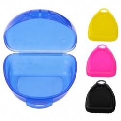 1x Kosárlabda szájvédő fog védőtartó doboz fogsorhoz