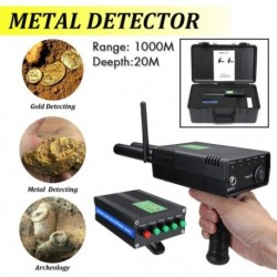 1x AKS Pro kézi antenna fém arany detektor kereső kereső 1000 méter ezüst drágakő szkenner