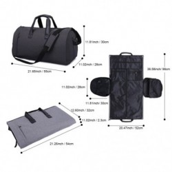 2 az 1-ben függő bőrönd öltöny táska  ruhadarab összecsukható repülőtáska cipőtasakkal
