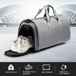 1x Ruházati táska 2 az 1-ben sport táska utazó táska