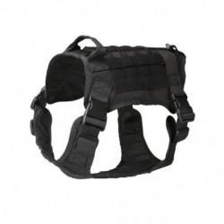 1x Taktikai kutyahám mellény Molle vízálló kültéri kiképzés katonai járőr állítható álcázási ruhák