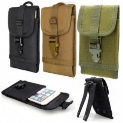 1x Molle táska többfunkciós vízálló mobiltelefon okostelefon derék tasak sport tok
