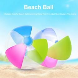 1x Felfújható színes tengerparti labda felnőtt gyermek diákok számára sport vizisport
