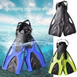 1 pár Felnőtt úszótalp állítható hevederrel búvárkodáshoz úszáshoz