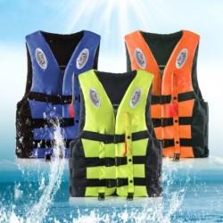 1db CE tanúsítással rendelkező mentőmellény gyermekeknek Felnőtt univerzális segítő kajakozás vizi sportok horgászat