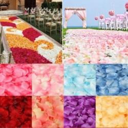 500db 5*5cm selyem rózsa parti esküvőoi dísz dekoráció