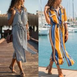 1x divatos női nyári lenge laza ruha