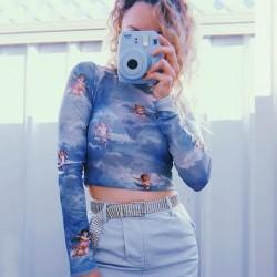 1x női felső blúz top póló pulcsi pulóver