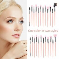 12db színes kozmetikai alapozó szemhélyárnyaló smink ecset kefe szett készlet