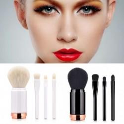 4 az 1ben színes kozmetikai alapozó szemhélyárnyaló smink ecset kefe szett készlet