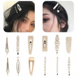 10db hajcsipesz női kristály strasszos gyöngyös hajtű menyasszonyi ékszer dekoráció