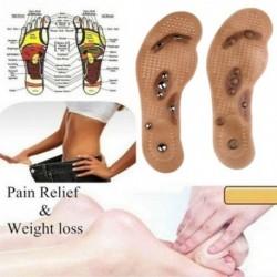 1 pár mágneses terápiás karcsúsító talpbetét lábmasszázs Egészségügy cipőbetét