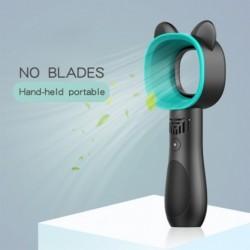 1x Kültéri hordozható USB újratölthető ventilátor, mini kézi ventilátor hűtővel, 3 sebességgel