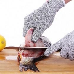 1x Vágásgátló kesztyű biztonsági kesztyű férfi konyhai hentes vágott hőálló, tűzálló kesztyű