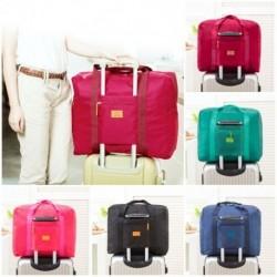 1x Vízálló utazótáska Nylon nagy kapacitású tasak, összecsukható utazótáska Unisex csomagoló kocka poggyász táska