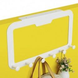 1x 6 kampós ajtó fogas háztartási fogas ruhaszárító ruhatartó