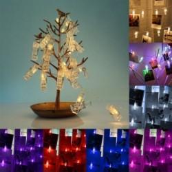 1x Valentin-napi ajándék karácsonyi dekoráció fali világítás klipekkel díszítéséhez Szoba dekoráció
