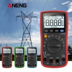 1x ANENG AN860B   Digitális bilincsmérő multiméter AC / DC áram feszültség ellenállás teszter