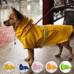 1x Vízálló kutyakabát kabát mellény esőkabát fényvisszaverő ruházat 2XL
