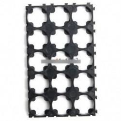 3x5 18650 cellaelemek Távtartó sugárzó Shell műanyag hőtartó tartó