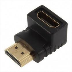 HDMI a M / F csatlakozó hosszabbító adapter csatlakozója HDTV HDCP 1080-hoz