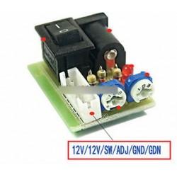 Mini CCFL inverter tesztelő LCD TV laptop képernyő javítása háttérvilágítás lámpa teszt 12V