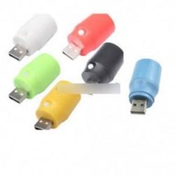 Világítás Nyomja meg a Gomb éjszakai fényét USB LED lámpa Fehér / piros / zöld / sárga / fekete / kék