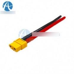 XT60 csatlakozó női W / ház 10CM / 100mm szilíciumhuzal 14AWG kábel